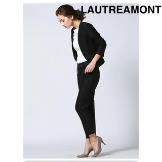 LAUTREAMONT - ロートレアモン 洗えるスーツ 裏なし 黒 38号M
