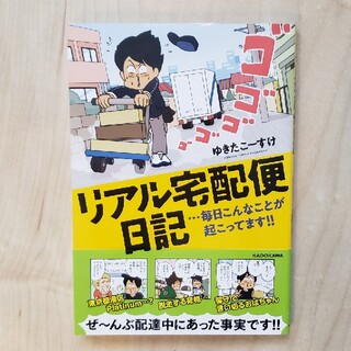 カドカワショテン(角川書店)のリアル宅配便日記 ・・・毎日こんなことが起こってます!!(文学/小説)