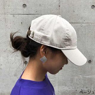 新品 ニューハッタン キャップ 帽子 cap レディースメンズ兼用 ベージュ(キャップ)