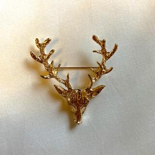 Santa Monica - ୨୧ Vintage rétro reindeer brooch