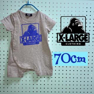 XLARGE - X LARGE   エクストララージ   ベビーロンパース   ゴリラ 70cm