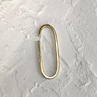 イヤーカフ  片耳用 真鍮 OVAL EAR CUFF