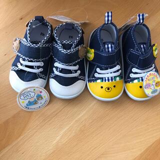 ニシマツヤ(西松屋)の新品未使用★子供靴14cm×2足(スニーカー)