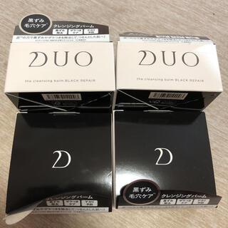 DUO デュオ ザ クレンジングバーム ブラックリペア 90g 4個セット(フェイスオイル/バーム)