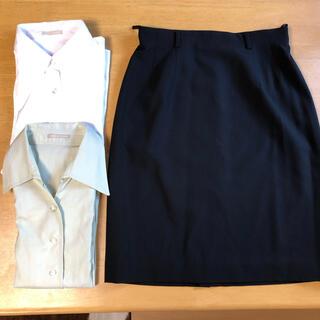 コムサデモード(COMME CA DU MODE)のコムサデモード レディース スーツ用 スカート シャツ(スーツ)