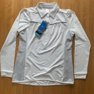 ミズノ(MIZUNO)のMIZUNO+me(ミズノ プラス ミー)レディース Mサイズ ポロシャツ(ポロシャツ)