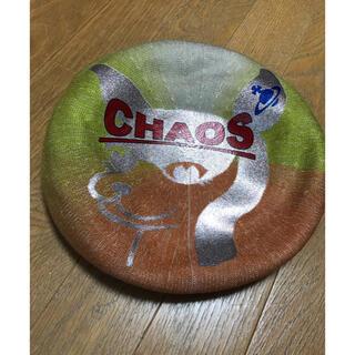 ヴィヴィアンウエストウッド(Vivienne Westwood)のビビアンウエストウッド チャオス帽子(ハンチング/ベレー帽)