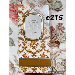 ロシャス(ROCHAS)のc215 マダムロシャス 7ml 新品未開封 シュリンク付き(香水(女性用))