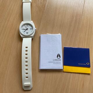 ニクソン(NIXON)のニクソン 時計 箱なし 使用回数3回(腕時計)