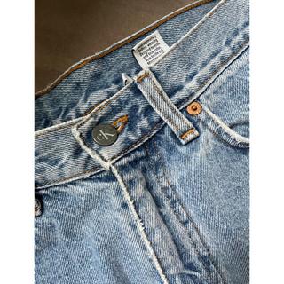 カルバンクライン(Calvin Klein)のカルバンクライン デニムスカート(ミニスカート)