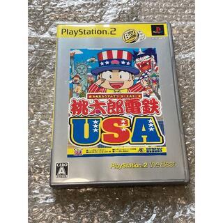 プレイステーション2(PlayStation2)のPS2 桃太郎電鉄 USA(家庭用ゲームソフト)