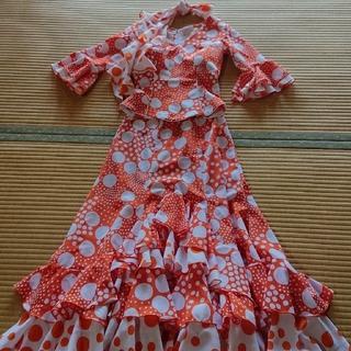 フラメンコ衣装  ツーピースセット