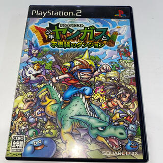 プレイステーション2(PlayStation2)のドラゴンクエスト 少年ヤンガスと不思議なダンジョン PS2 中古品(家庭用ゲームソフト)