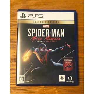 PlayStation - MARVEL スパイダーマン マイルズモラレス Ultimate Edition