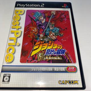 プレイステーション2(PlayStation2)のジョジョの奇妙な冒険 黄金の旋風 PS2 中古品(家庭用ゲームソフト)