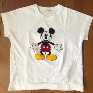 ブランシェス Tシャツ 140センチ ミッキーT