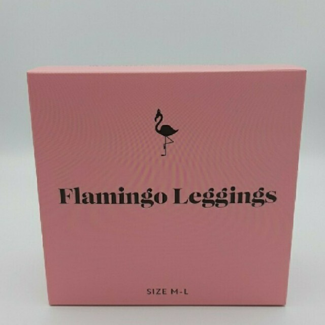 フラミンゴレギンス M-Lサイズ レディースのレッグウェア(レギンス/スパッツ)の商品写真