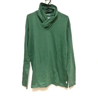 ソウソウ(SOU・SOU)のソウソウ サイズL メンズ美品  グリーン(Tシャツ/カットソー(七分/長袖))