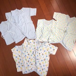 西松屋 - 西松屋 新生児肌着 短肌着 コンビ肌着