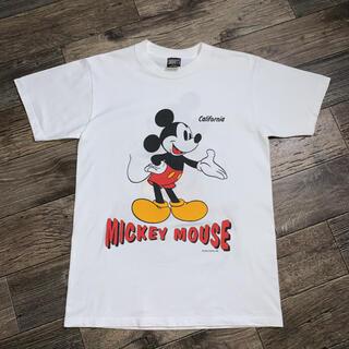 ディズニー(Disney)のvintage Mickey Mouse T-SHIRT(Tシャツ/カットソー(半袖/袖なし))