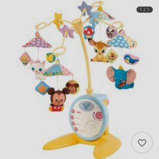 ディズニー(Disney)のやわらかガラガラメリー(オルゴールメリー/モービル)