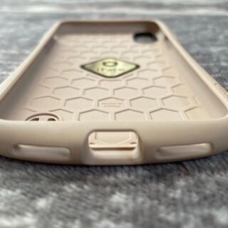 iPhoneX.XSケース iFace カフェオレ