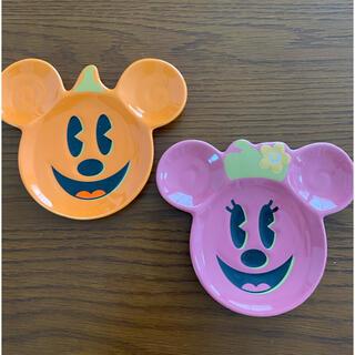 ディズニー(Disney)のディズニー ミッキーミニー ハロウィン2010豆皿(その他)