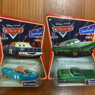 ディズニー(Disney)のマテル カーズ Ramone Mario Andretti 2台セット ミニカー(ミニカー)