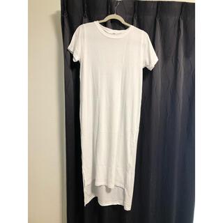 リゼクシー(RESEXXY)のリゼクシー ロングTシャツワンピース(Tシャツ(半袖/袖なし))