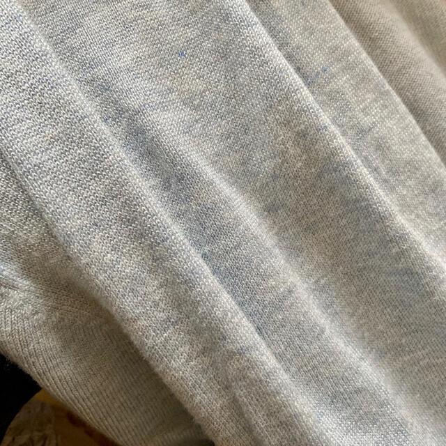 ZARA(ザラ)のザラ 新品タグ付き レーヨンベルト付きロングカーディガン 水色 レディースのトップス(カーディガン)の商品写真