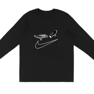 レア! Travis Scott Nike SB ロングTシャツ トラヴィス