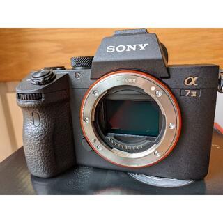 ソニー(SONY)のSONY  α7III  ILCE-7M3 昨年10月購入超美品1700ショット(ミラーレス一眼)