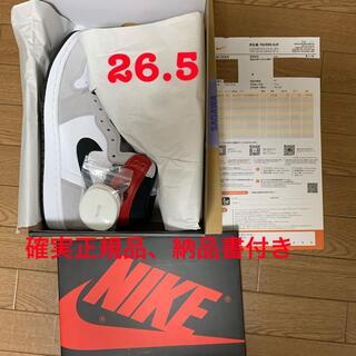 Nike AirJordan1 Light Smoke Grey(スニーカー)
