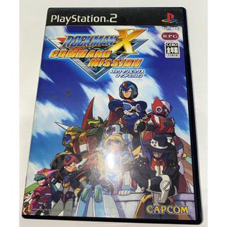 プレイステーション2(PlayStation2)のロックマンXコマンドミッション PS2 中古品(家庭用ゲームソフト)