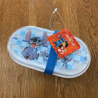 ディズニー(Disney)のLilo&Stitch 弁当箱 箸付き(弁当用品)