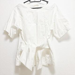 プラージュ(Plage)のプラージュ サイズF レディース - 白(カットソー(半袖/袖なし))