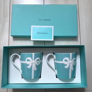 Tiffany & Co. - ティファニー ペアマグカップ ブルーボックスマグ
