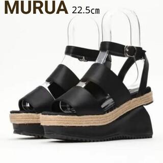 MURUA - MURUA プラットフォームサンダル