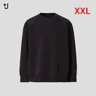 ユニクロ(UNIQLO)のユニクロ ドライスウェットシャツ XXL ブラック(スウェット)
