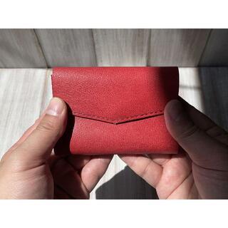 お札を折らずに入れられる!軽いヤギ革の極小ミニ財布(Lサイズ)(財布)