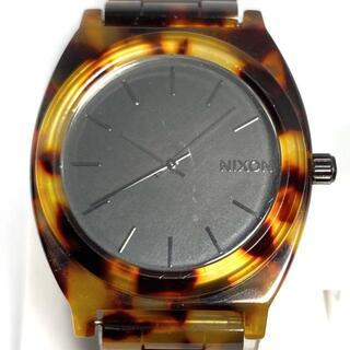 ニクソン(NIXON)のNIXON(ニクソン) - 15K ボーイズ 黒(腕時計)