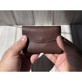 お札を折らずに入れられる!軽い豚革の極小ミニ財布(Lサイズ)(財布)