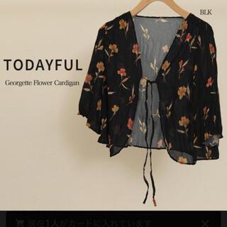 TODAYFUL - 花柄シフォンブラウス