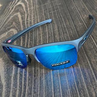 Oakley - スリバー エッジ 偏光 プリズム サファイア ミラー スチール ブルー
