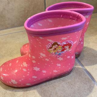 ディズニー(Disney)の長靴レインブーツ 16cm プリンセス(長靴/レインシューズ)