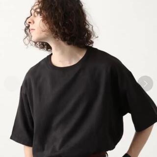 HARE - HARE ヌバックカットソー ビッグシルエット オーバーサイズ 半袖Tシャツ