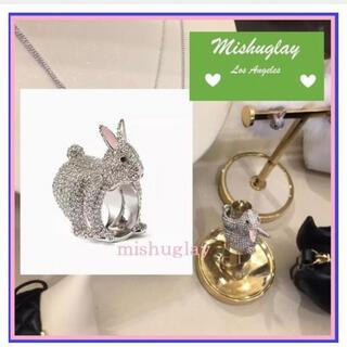 ケイトスペードニューヨーク(kate spade new york)の♤ ケイトスペード ウサギ リング MAKE MAGIC RABBIT RING(リング(指輪))
