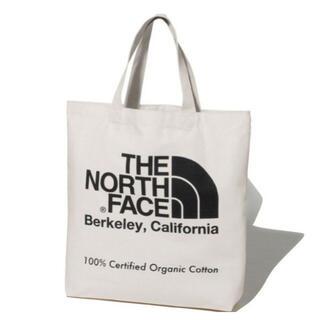 ザノースフェイス(THE NORTH FACE)のノースフェイス オーガニックコットントート ブラック 国内正規品 新品未使用(トートバッグ)