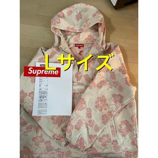 Supreme - supreme floral tapestry anorak L pink 新品