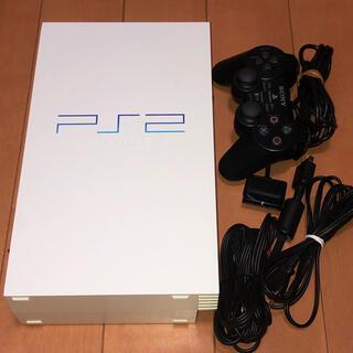 プレイステーション2(PlayStation2)のps2 本体+付属フルセット SCPH-55000GT セラミックホワイト(家庭用ゲーム機本体)